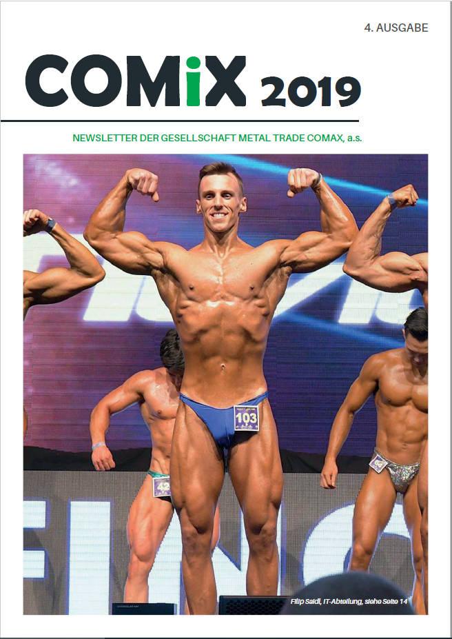 Newsletter der Gesellschaft METAL TRADE COMAX, a.s.