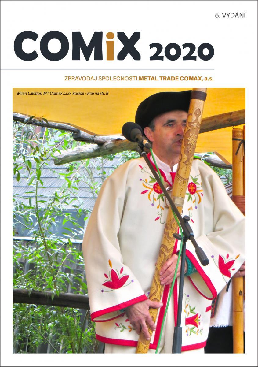 Právě vyšel COMIX 2020