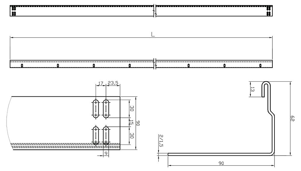 LVB - technical drawing