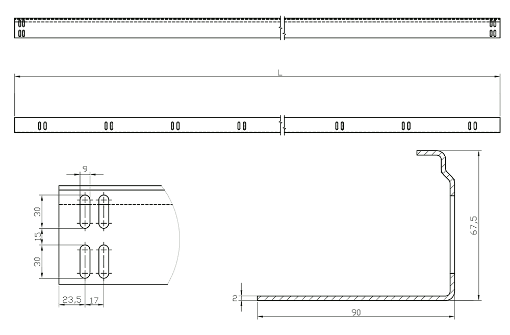 LVD - technical drawing