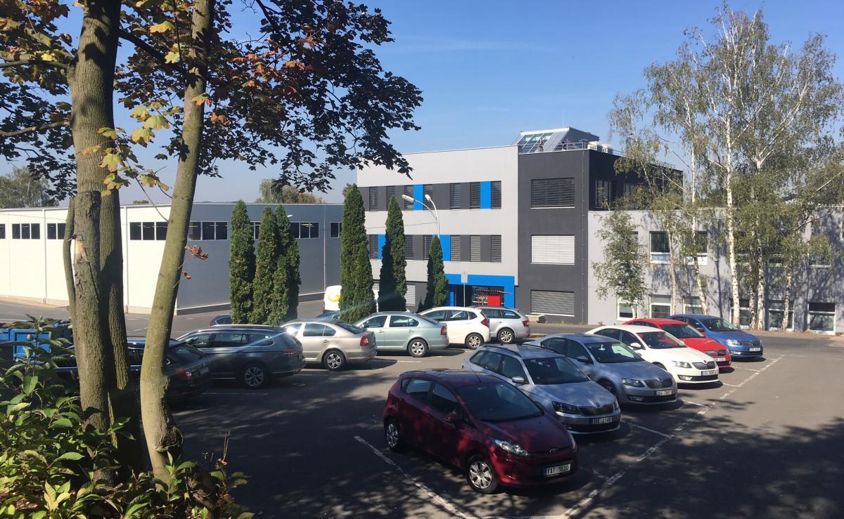 Sídlo společnosti METAL TRADE COMAX, a.s., ve Velvarech